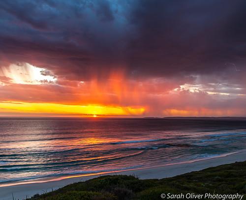 ocean night canon drive au great australia observatory lightning westernaustralia 6d westbeach esperance