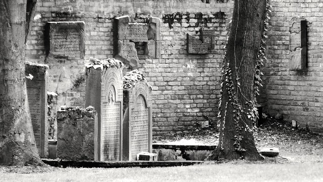 Frankfurt - Jüdischer Friedhof Battonstraße