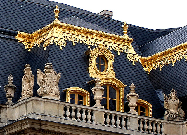 Gold and Slate