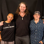 Wed, 09/03/2016 - 11:36am - Gail Ann Dorsey, Tim Lefebvre, and Mark Plati live in Studio-A, 3.8.16 photographer: Jeremy Rainer