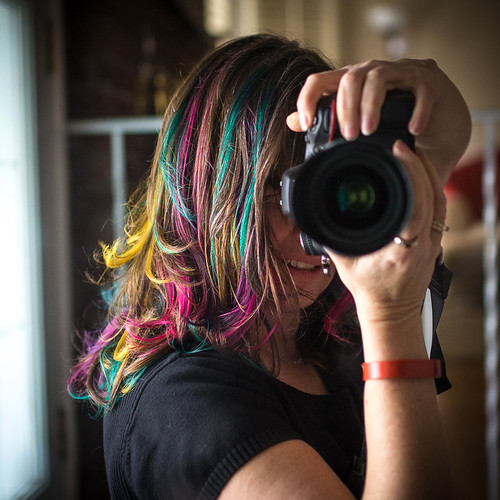 Got my hairs all colourful!   by Dani_Girl