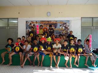 Thanlyin Boys circus team photo