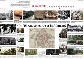 Wat gebeurde er tijdens WO2 in Alkmaar | by Regionaal Archief Alkmaar