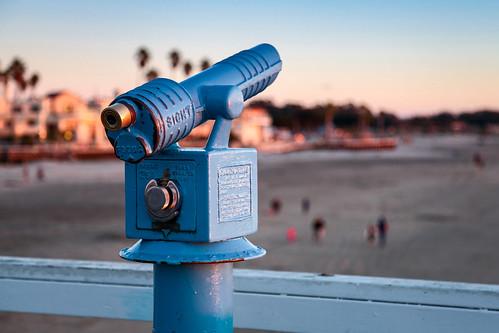 california color digital photography pier view bokeh telescope centralcoast pismobeach originalphotography canon5dmkii