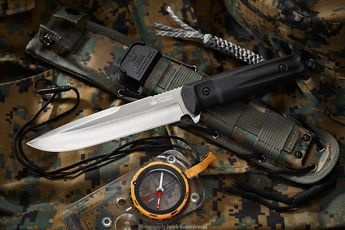 Kizlyar Supreme Delta tactical fixed knife.