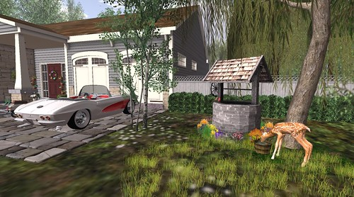 Potomac Signature Homes- Wishing Well (H&G Expo 2016) | by Hidden Gems in Second Life (Interior Designer)