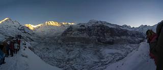 Sunrise near Annapurna