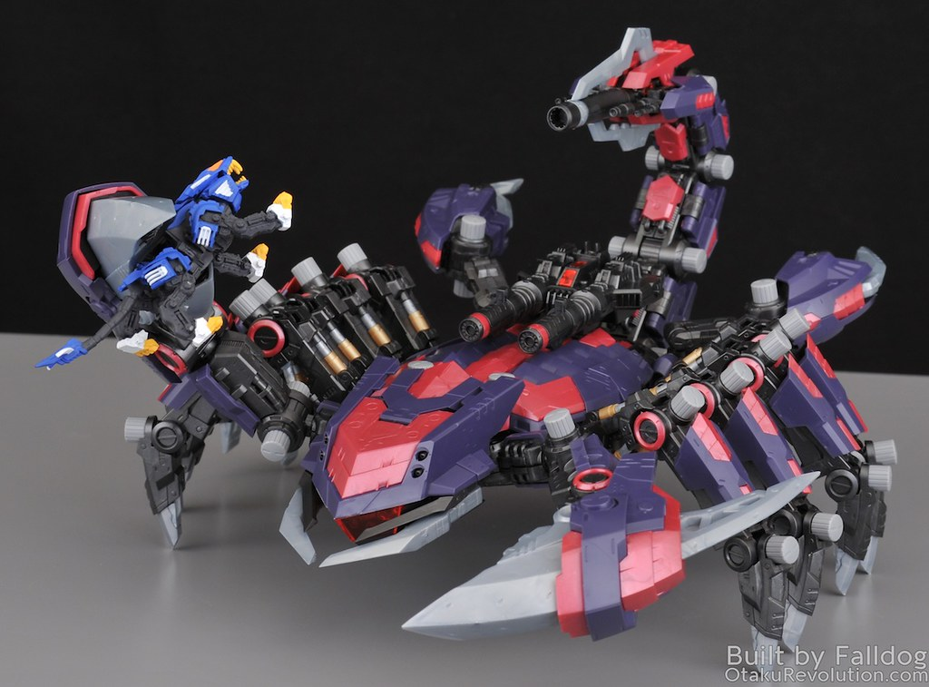 HMM Zoids - Death Stinger Review 5