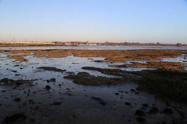 The northern coast of Hayling Island