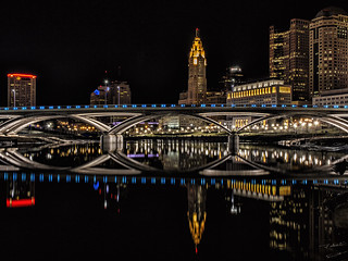Columbus, Ohio Night Skyline | by Mark Spearman