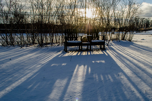 winter sunset landscape shadows chairs fortjohnson nikkor1855mmf3556gafsvrdx nikond7000 dajewski gdajewski