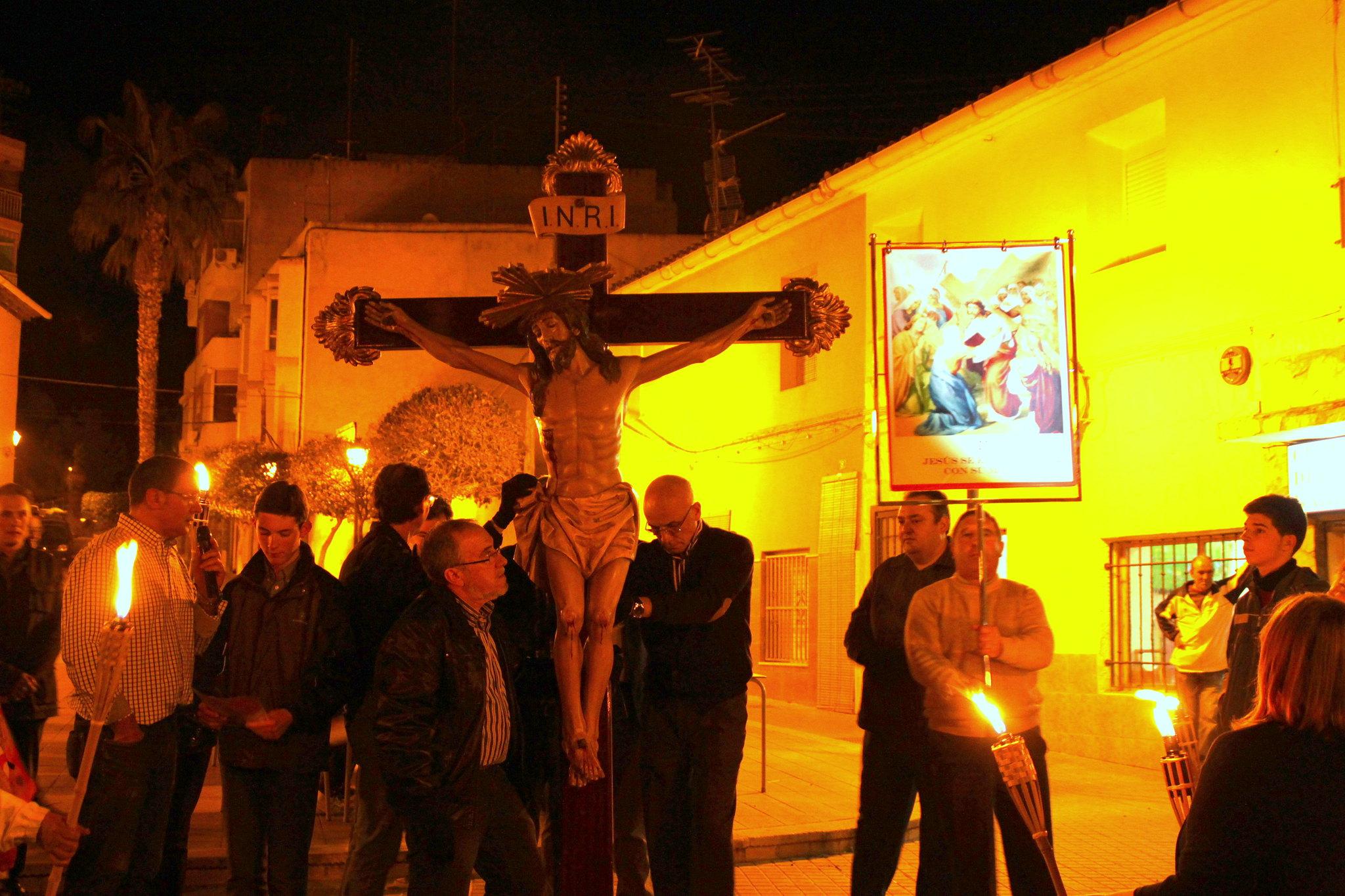 (2014-04-01) -  V Vía Crucis nocturno - Javier Romero Ripoll (30)