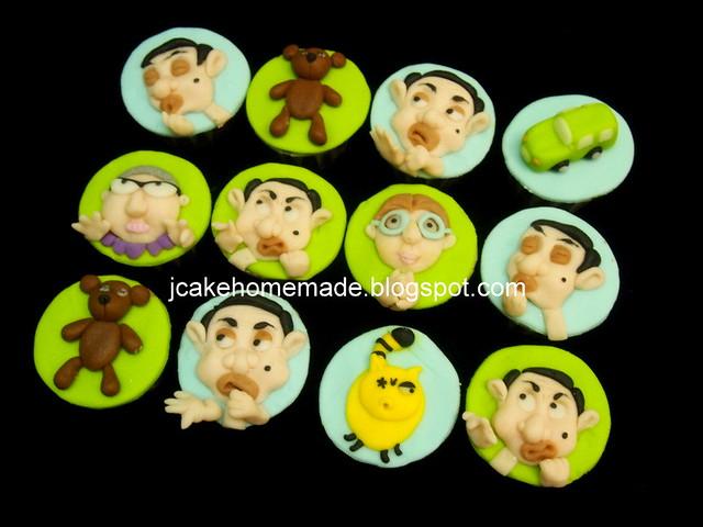 Mr. Bean cupcakes