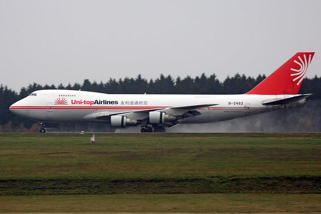 Uni-top Airlines  Boeing 747-2J6F(SCD) B-2462