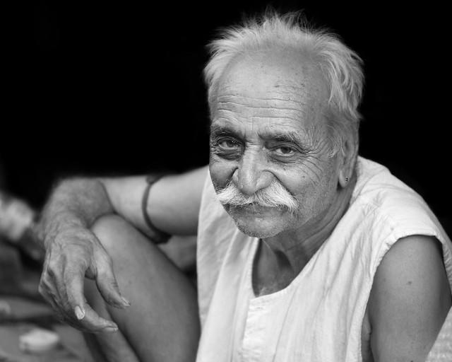 A man in Jaipur