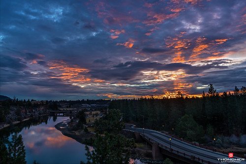 bridge sky nature clouds oregon centraloregon sunrise reflections landscape outdoors northwest bend sony scenic silhouettes pacificnorthwest fullframe fx waterscape southerncrossing farewellbendpark fe2870mmf3556oss a7r2 ilce7rm2 sonya7r2