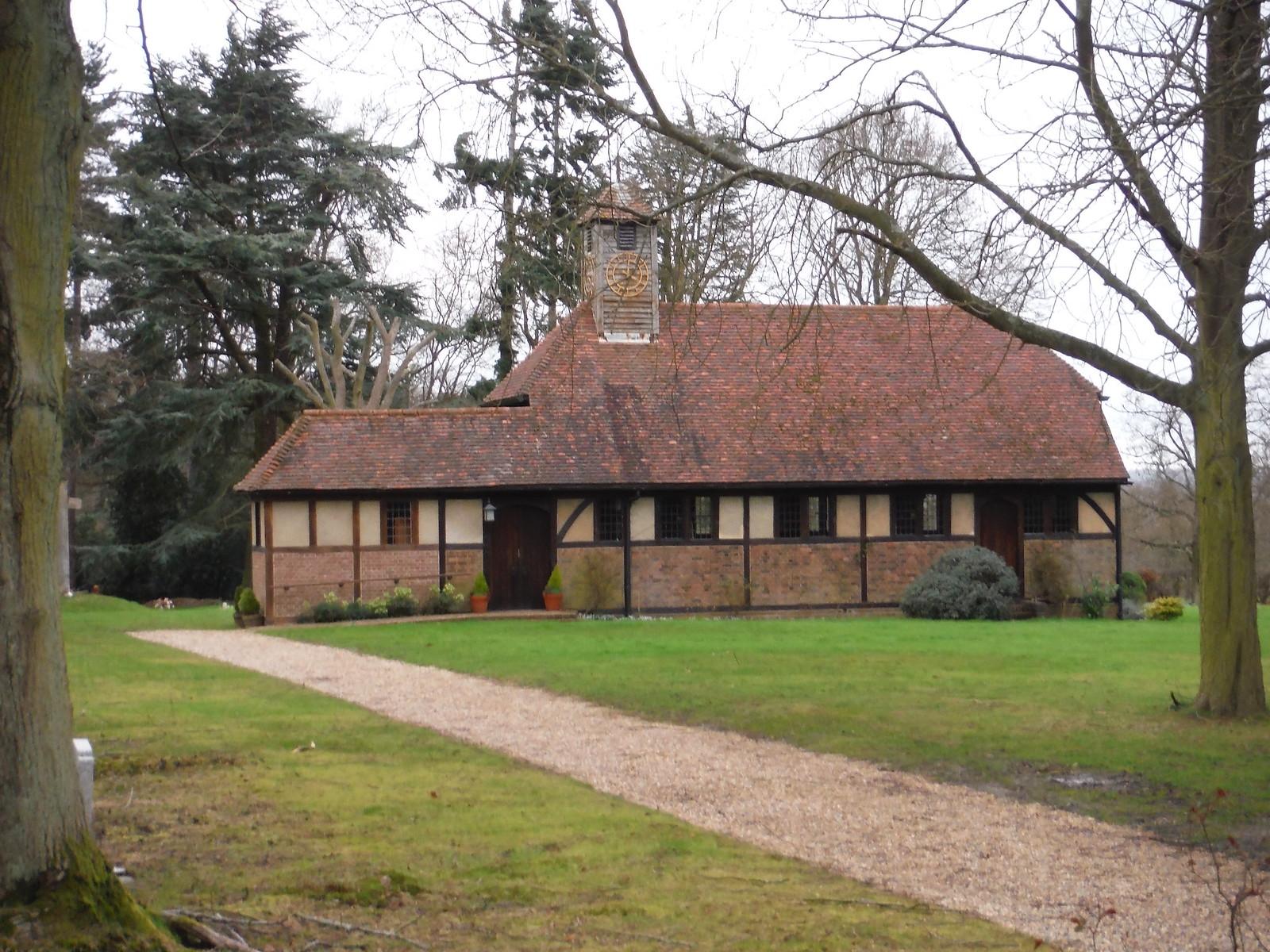 The Chapel of the Holy Cross & St. Alban, Brickendon SWC Walk 168 Broxbourne Circular (Bayford Ending)
