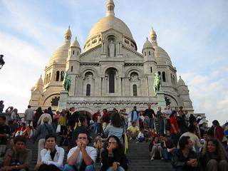 Parveen Shamsi, Paris Sacre Coeur Shamsi