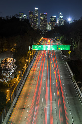 california road night losangeles cityscapes lighttrails pasadena southerncalifornia cityofangels