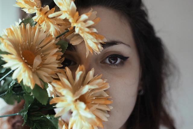 Siempre entre las flores