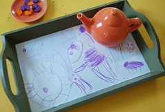 tea tray   by SouleMama