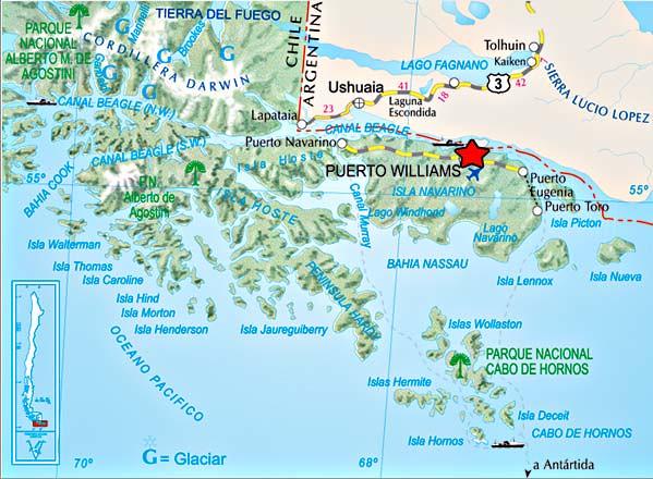Mapa Cabo de Hornos (Cape Horn map); Mapa Cabo Horn | Flickr