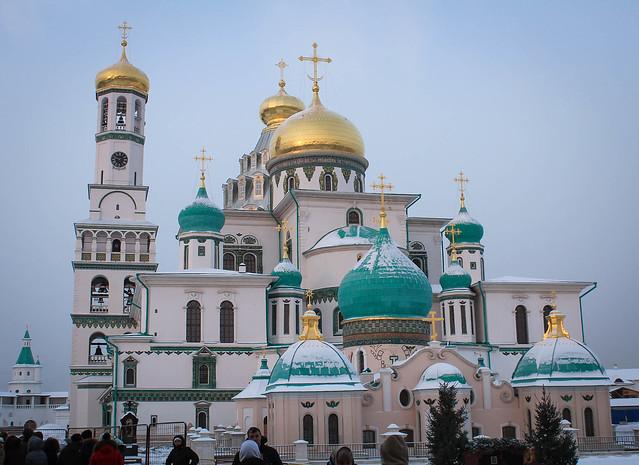 4-5 января 2016. Паломническая поездка в Москву.