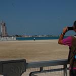 Viajefilos en Abu Dhabi, Corniche 03