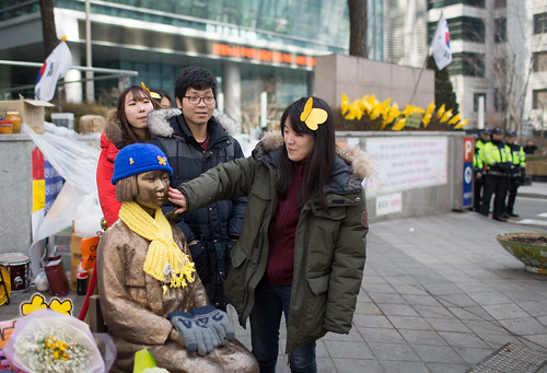 Visit to the Comfort Women protest monument | by Former UN Special Rapporteur on assembly & associa
