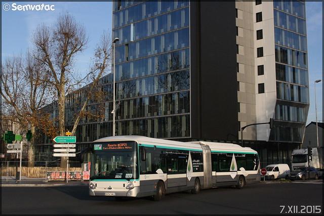 Heuliez Bus GX 427 Hybride - RATP (Régie Autonome des Transports Parisiens) / STIF (Syndicat des Transports d'Île-de-France) n°4582