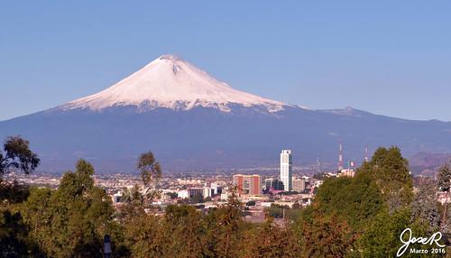 Edificios de la Juarez y el Volcán