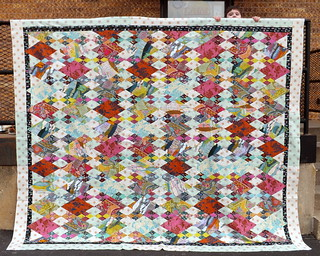 AMH Diamonds Quilt Top with Borders | by Grey Cat Quilts