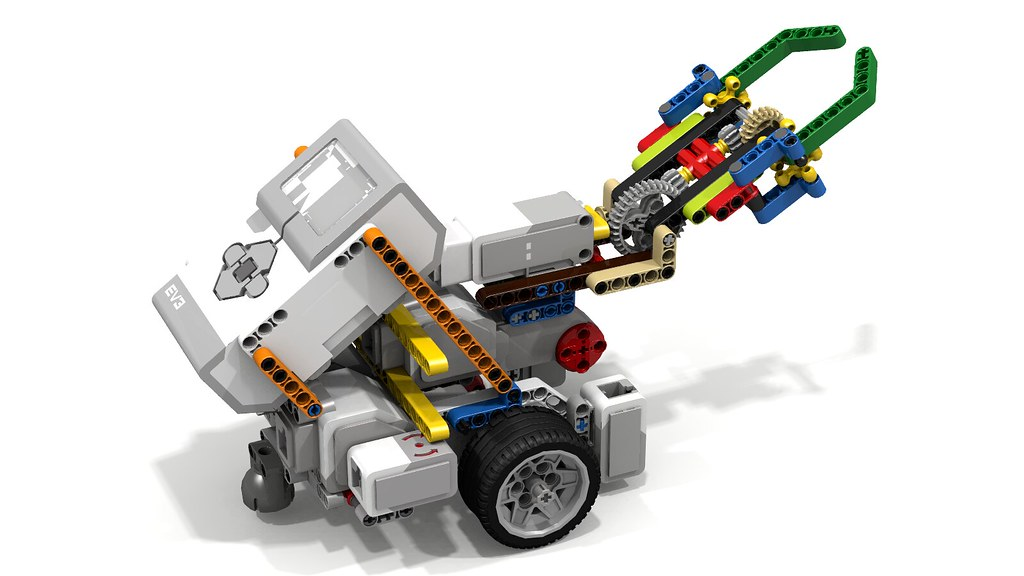 LEGO Grip-Lift-Release Grabber on Fllying Fish Base | Flickr