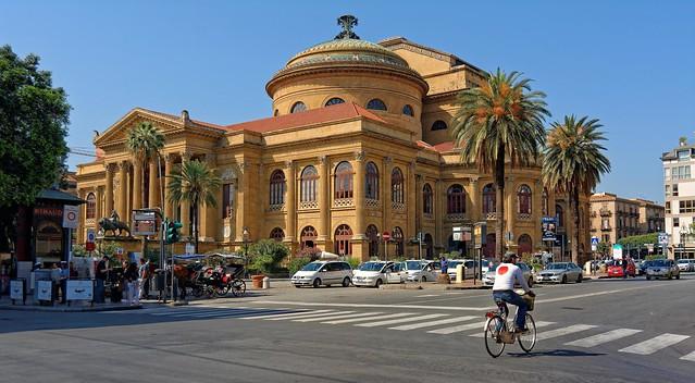 Palermo / Teatro Massimo Vittorio Emanuele