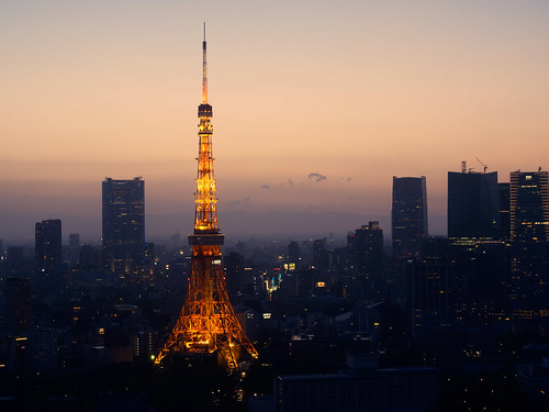 longexposure sunset tower japan skyline night landscape tokyo cityscape nightscape worldtradecenter silhouettes olympus 夕陽 日本 tokyotower 東京 bluehour 夜景 magichour minato observationdeck 東京鐵塔 em1 觀景台 浜松町 港區 世界貿易センタービル 濱松町 世界貿易中心 1240mmf28