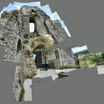 Corfe Castle, from 2014 #corfecastle #castle #dorset #instagrames #instagood #followme #cerisinfield #ceriphotomontage #summer #nationaltrust