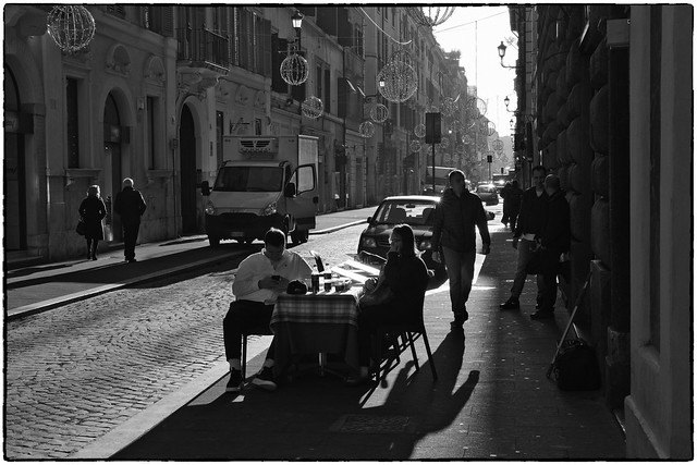 January in Rome