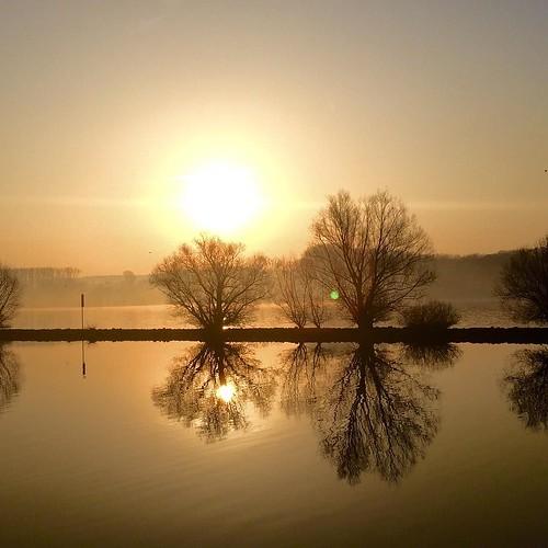 Sonnenaufgang Mainz