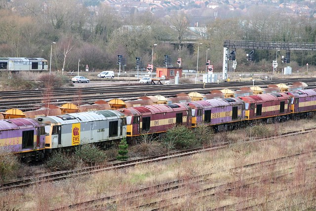 60'S STORED IN TOTON UP SIDINGS 20160123