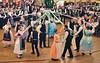 Der beliebte Bändertanz, Tanzvorführung der Trachtengruppe aus München
