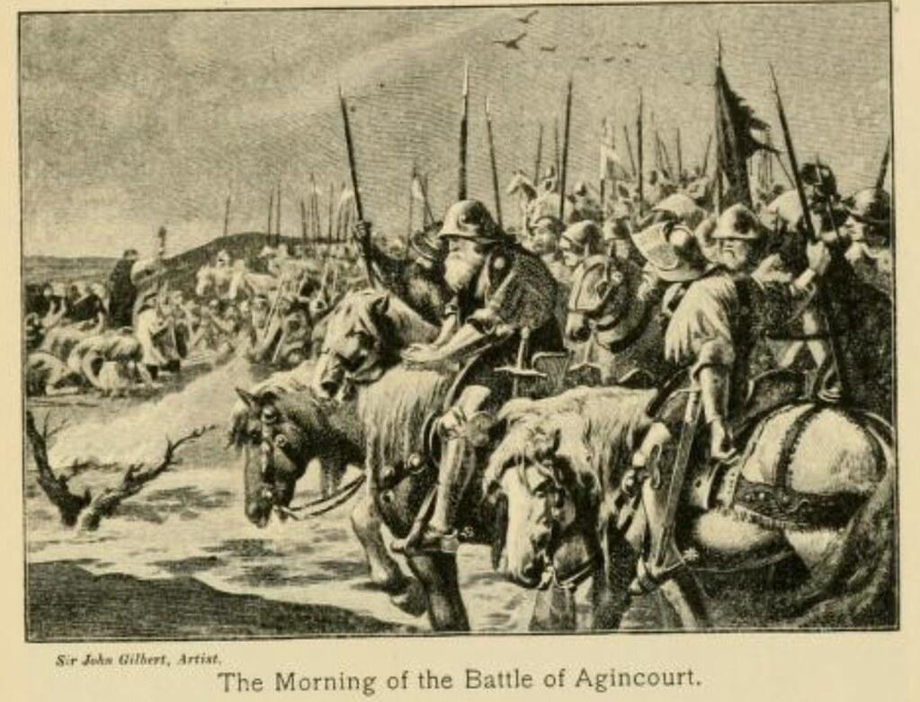 Middle Ages - Battle of Agincourt