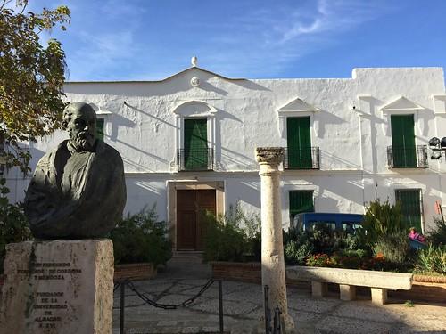 Statue of Friar Fernando Fernandez, Almagro, Spain | by SeppySills