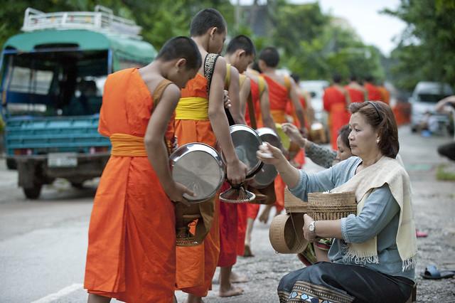 LAO266 Boun Khao Pansa - Luangprabang 207 - Laos