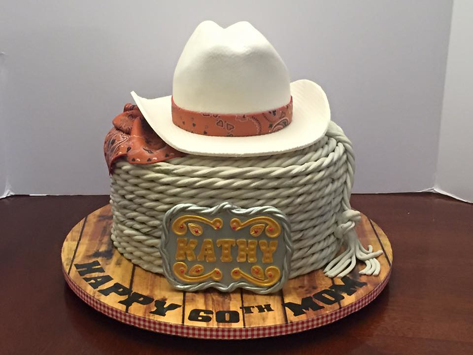 Remarkable Western Themed Birthday Cake Lady Wpb Flickr Funny Birthday Cards Online Alyptdamsfinfo