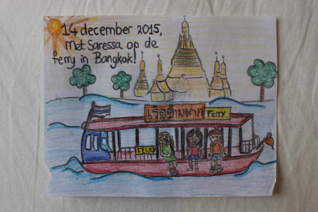 Bangkok met Saressa!