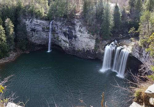 park fall creek state falls dual rockhouse canecreekfallsspencer tnwaterfallscanecreekfallsspencertnwaterfalls