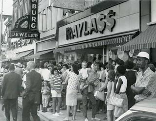 Raylass Department Store Columbus Georgia 1966 Grand Opening Press Photo