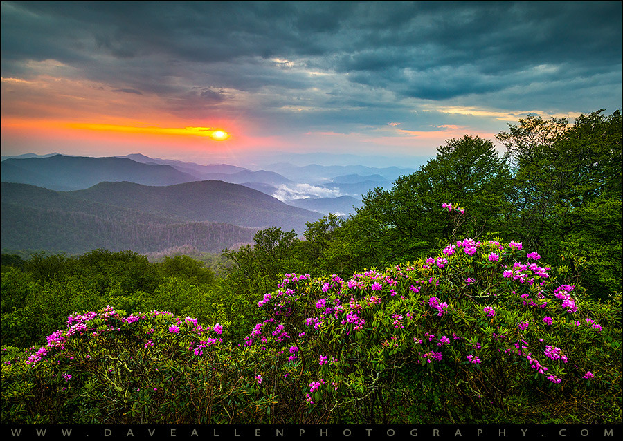 Asheville North Carolina Blue Ridge Parkway Scenic Landsca