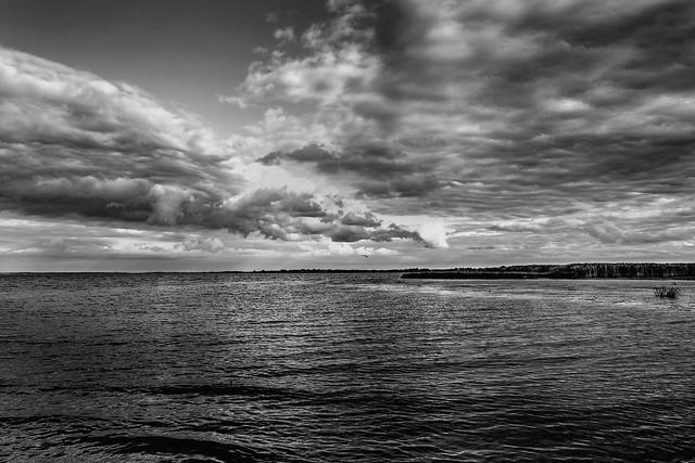 Lake Pskov (BW)