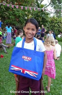 Great Britain Day Out kid from Mingaladon